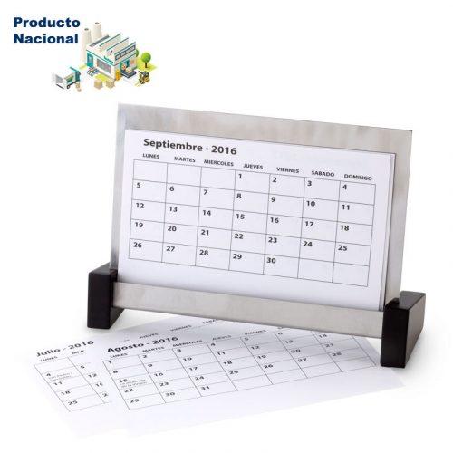 Calendario en Acero Inoxidable