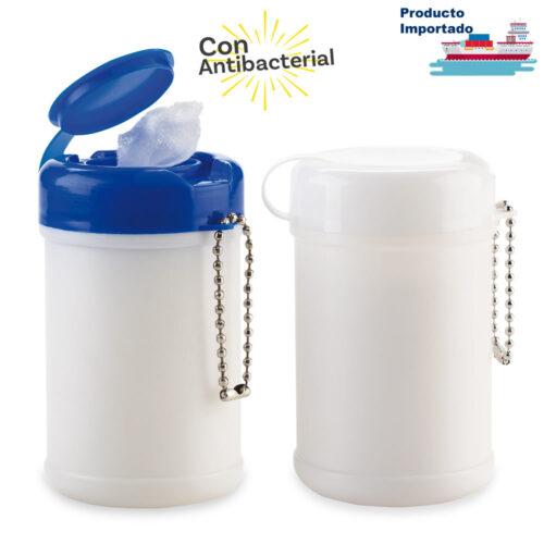 Mini Tarro Paños Húmedos Antibacterial 30 und