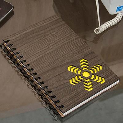 Cuaderno Tapa Madera