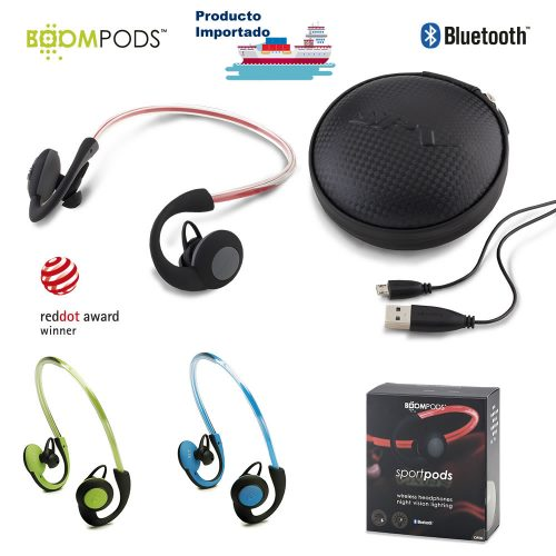 Audífonos Bluetooth Sportpods Vision - Boompods