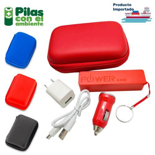 Set Travel con Pila Compact 2200 mah