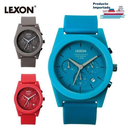Reloj de Pulso en Silicona Spring Chrono Lexon