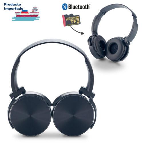 Audífonos Bluetooth DJ II con Lector TF