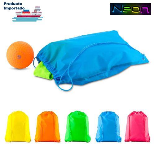 Sporty Bag Sencilla Neón
