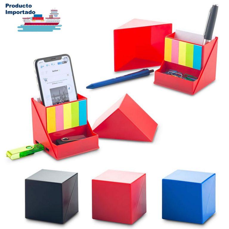 Sticky Set con Puerto Usb y Porta bolígrafos