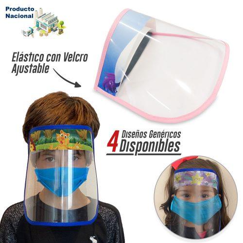 Careta Facial Plástica Big Logo Infantil