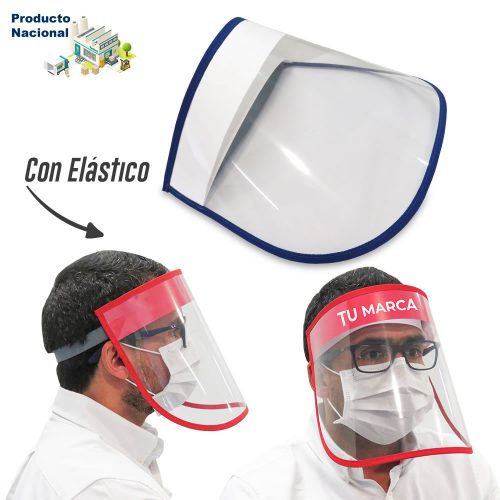Careta Facial Plástica Big Logo Adulto