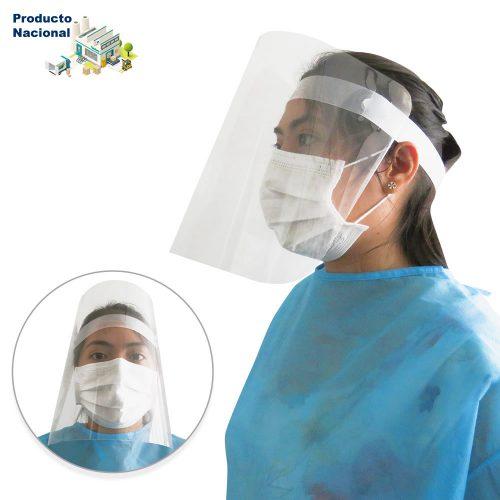 Careta Facial Plástica Fija