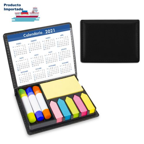 Set Escritorio PVC Stickies y Resaltadores Mágicos