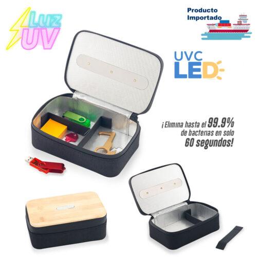 Organizador Multiusos Con Esterilizador UVC Led