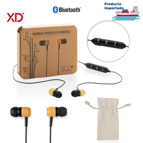 Audífonos Bluetooth Bamboo