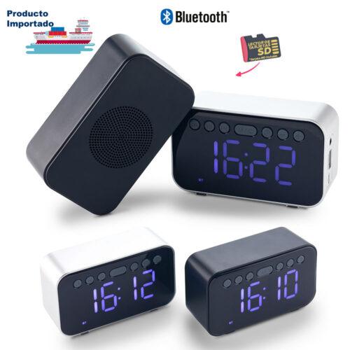 Speaker Bluetooth con Reloj