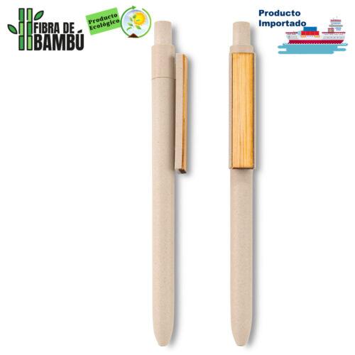Bolígrafo Bamboo Clip Eco