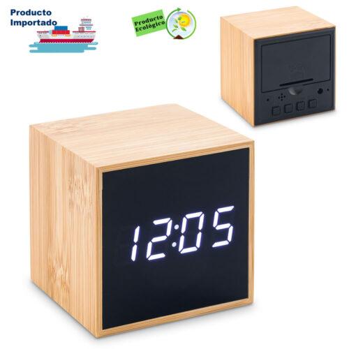 Reloj Lcd Bamboo