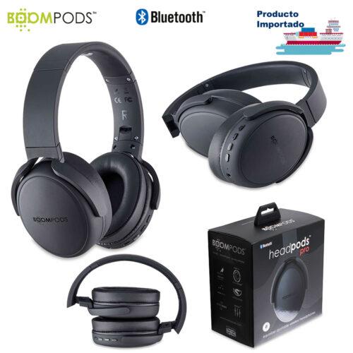 Audífonos Bluetooth Headpods Pro Boompods